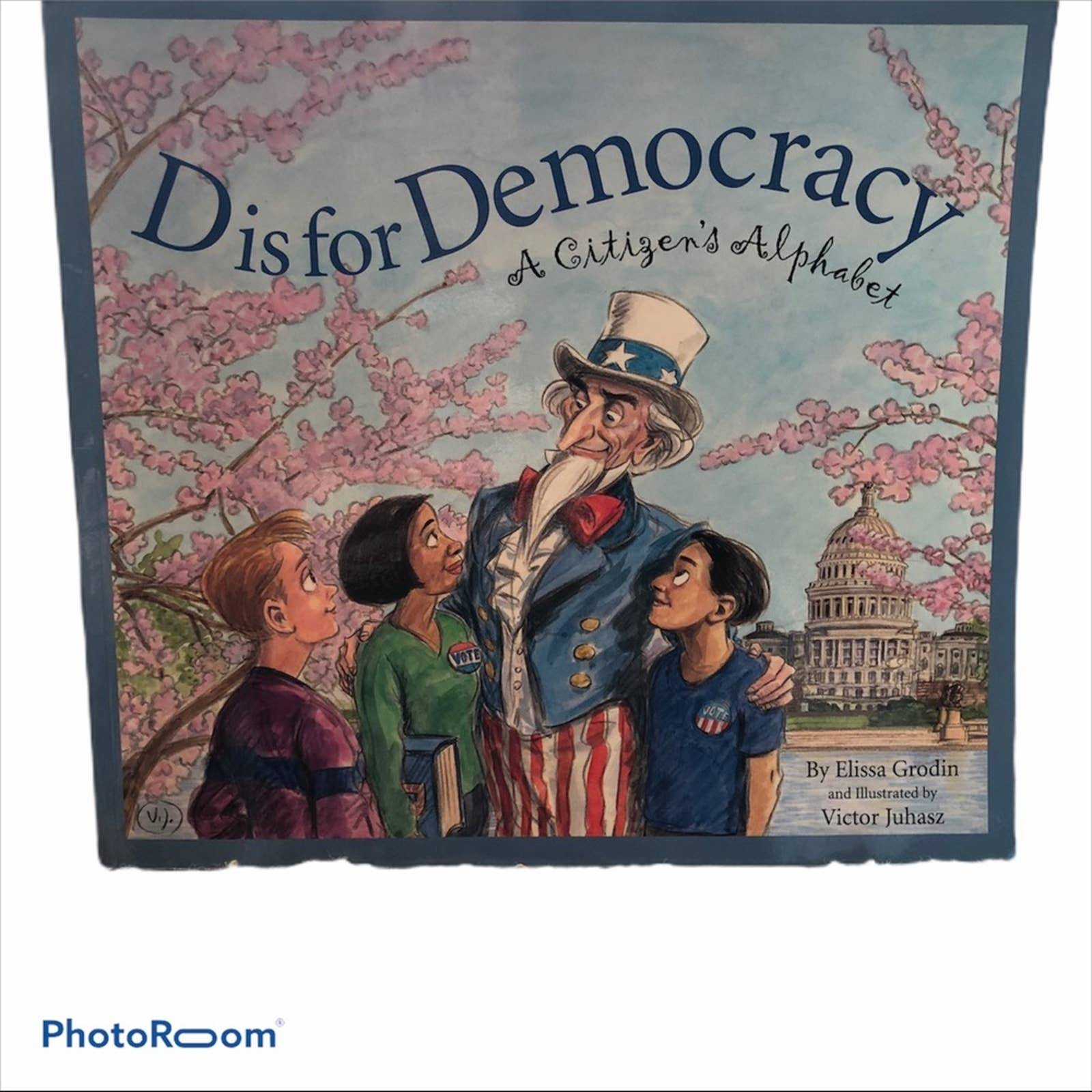 D is for Democracy paperback book