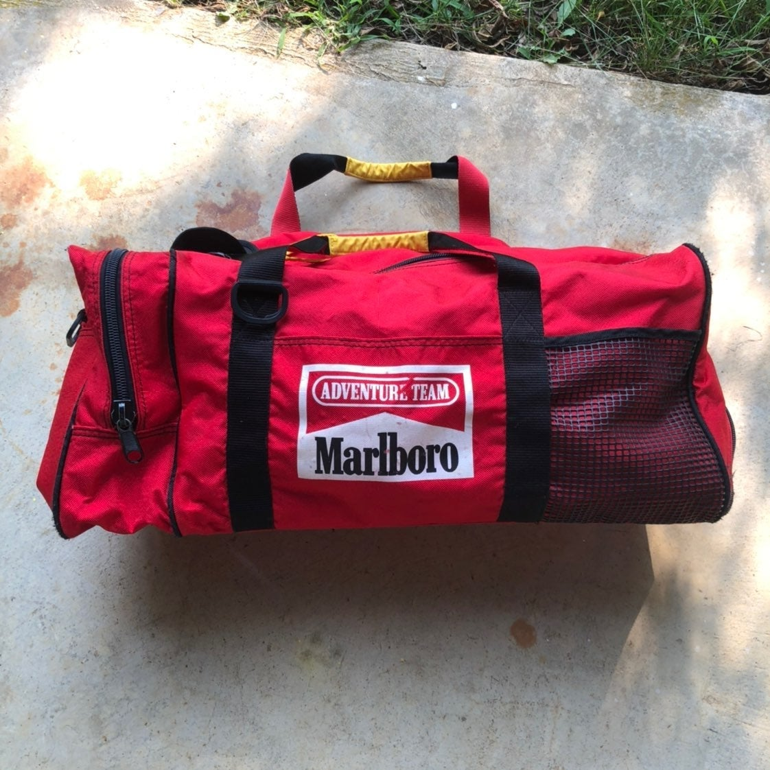 Vintage Marlboro Duffle Bag