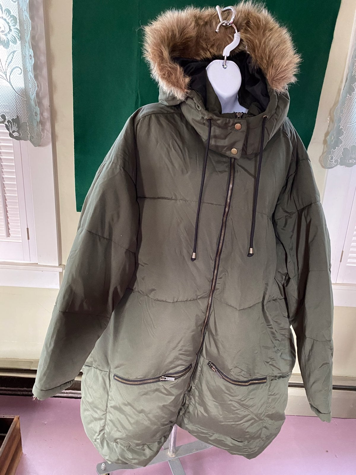Old Navy Woman's Hooded Coat 4X Plus NWT
