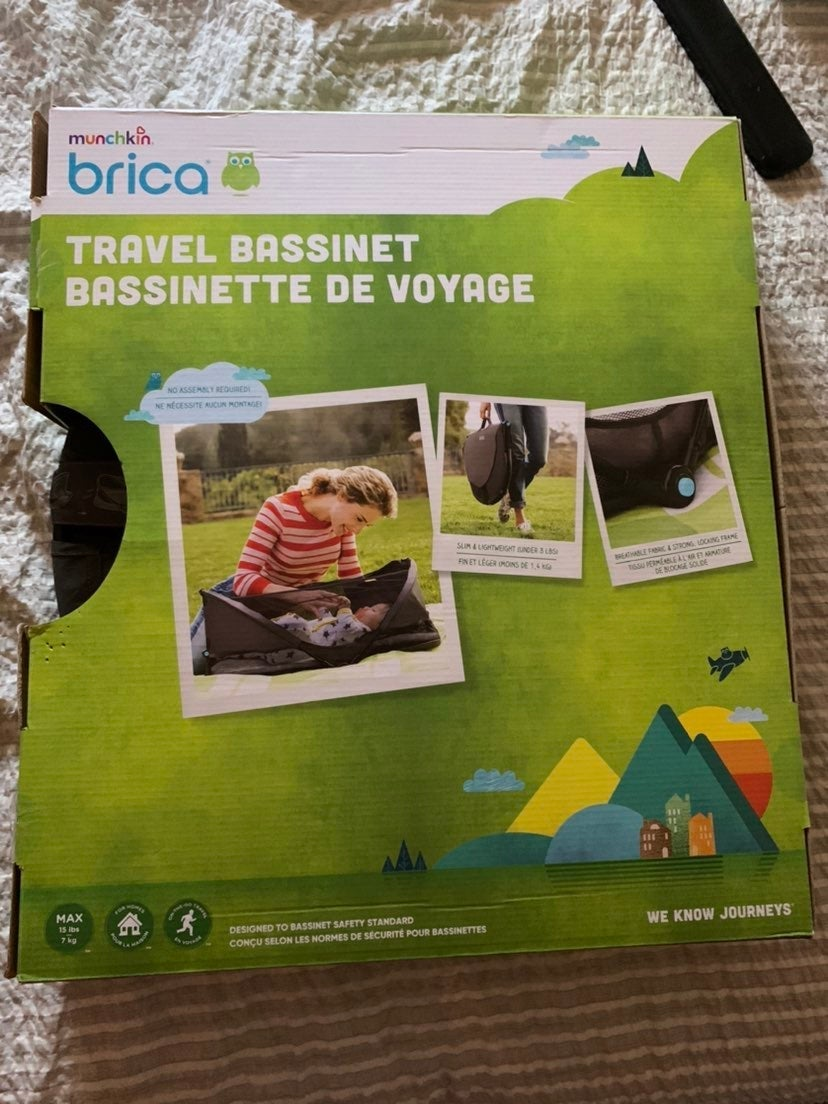 Brica Travel Bassinet