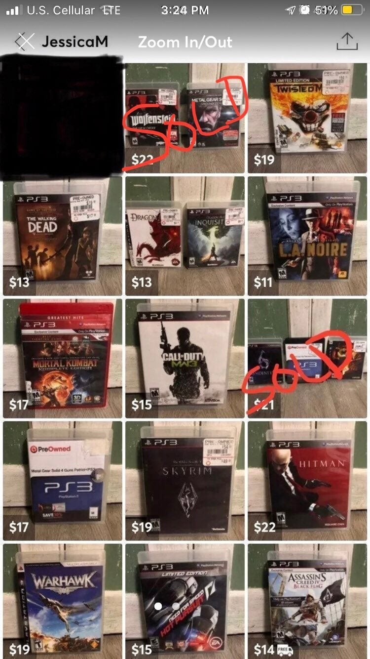 Ps3 game Lot (23)