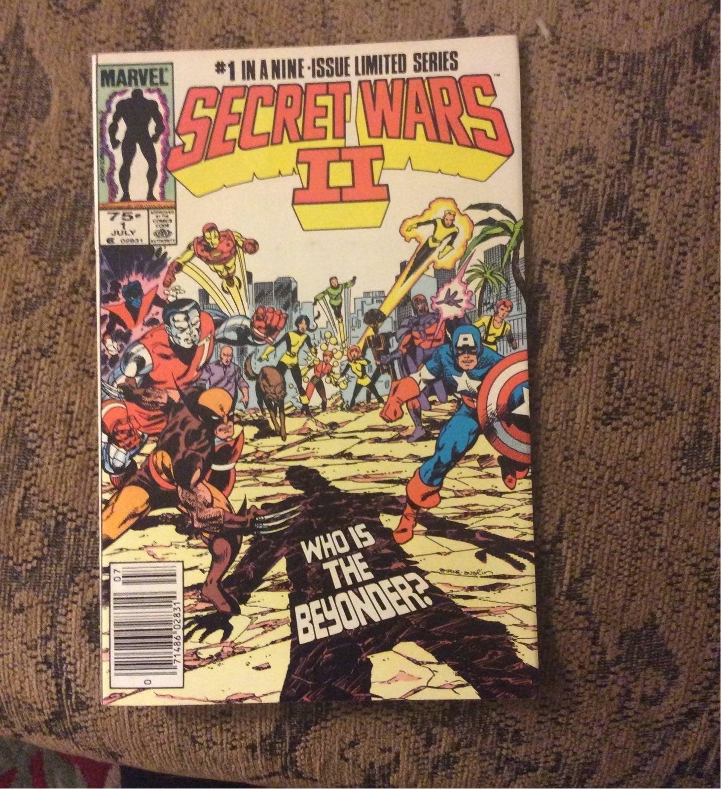 Secret Wars || #1