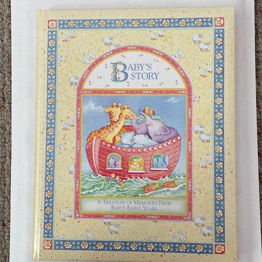 Noah's ark baby book memory boys girls