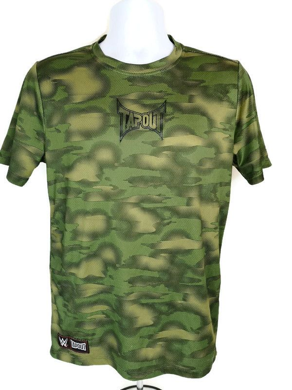 Tapout WWE Camouflage Men's T-Shirt Sz S