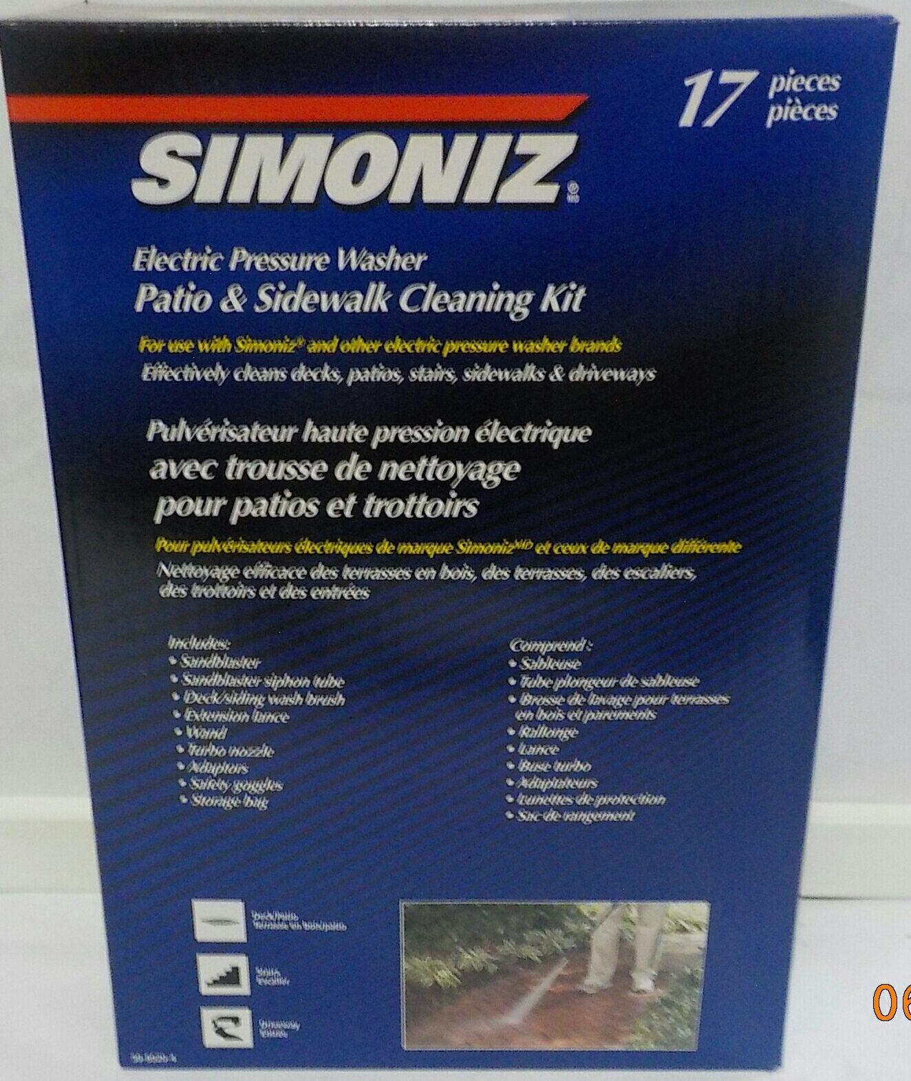 Simoniz Electric Pressure Washer Kit