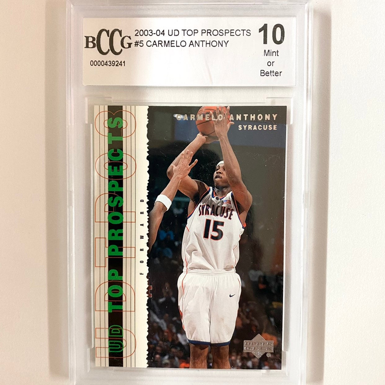 2003 Carmelo Anthony Rookie Top Prospect