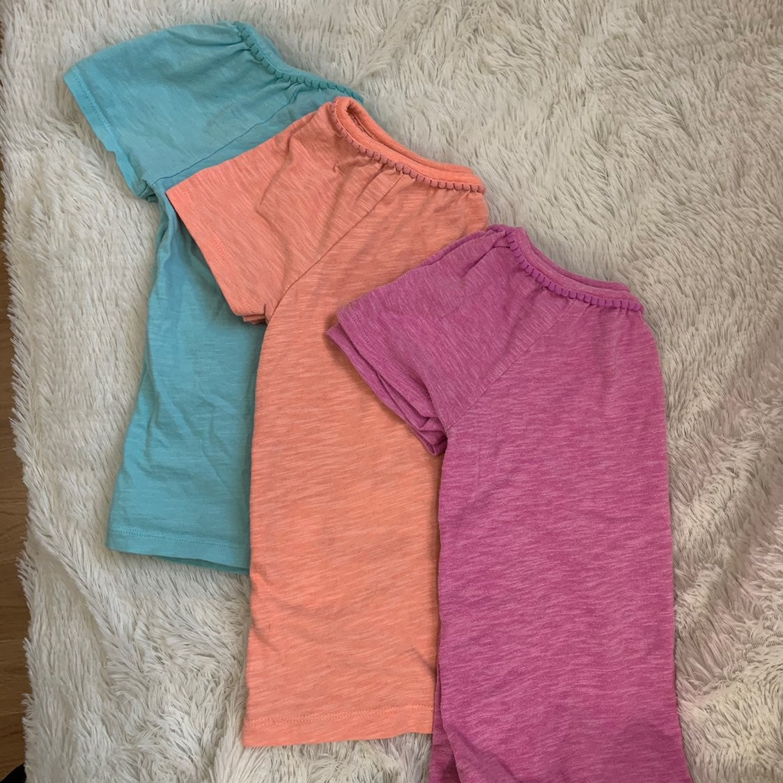 Carter's Girls 6X T-Shirt 3pc Bundle