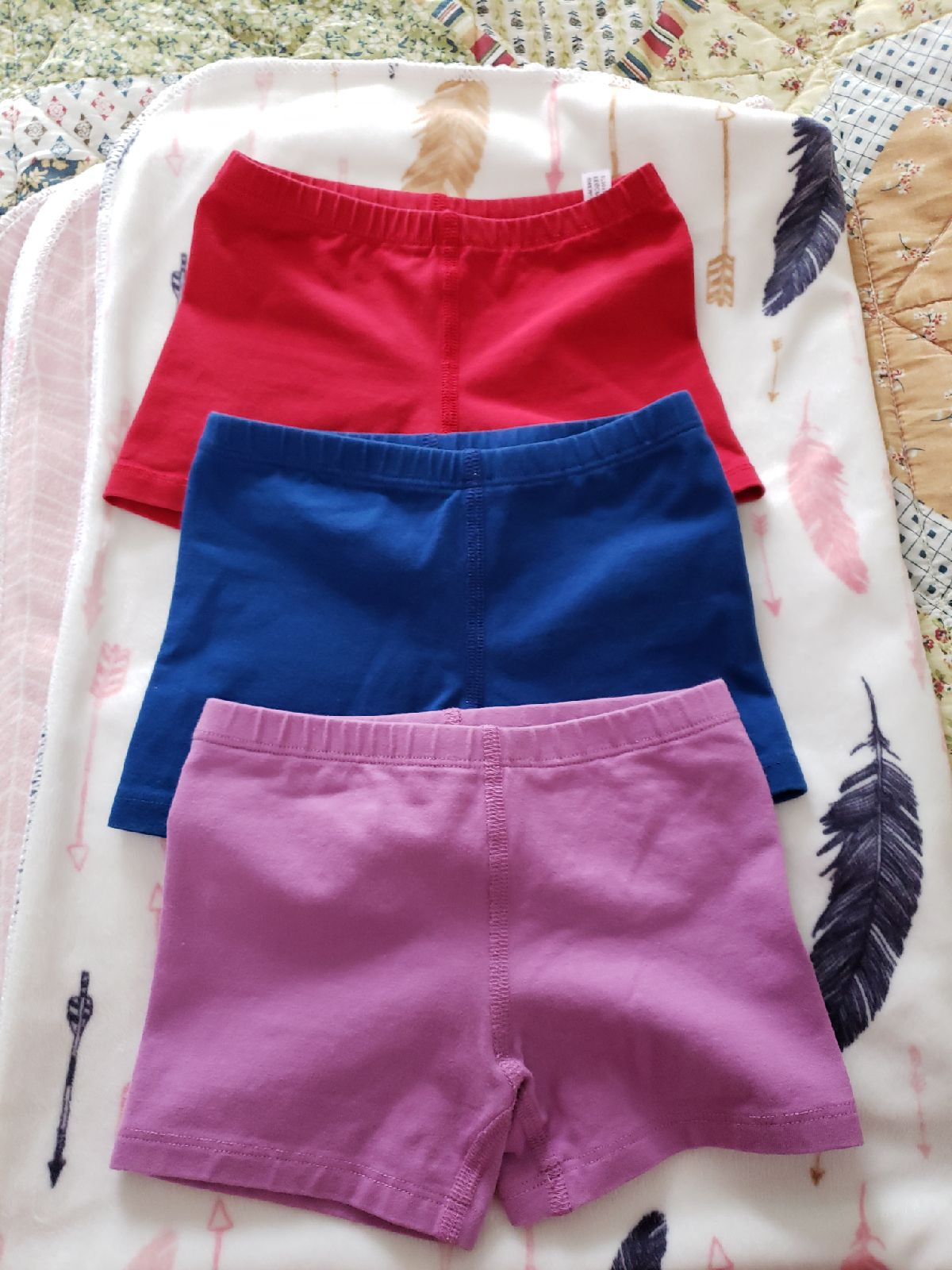 Primary girls shorts (now set of 3)