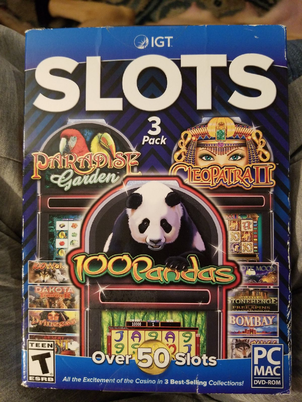 New 3 pack of slots PC games