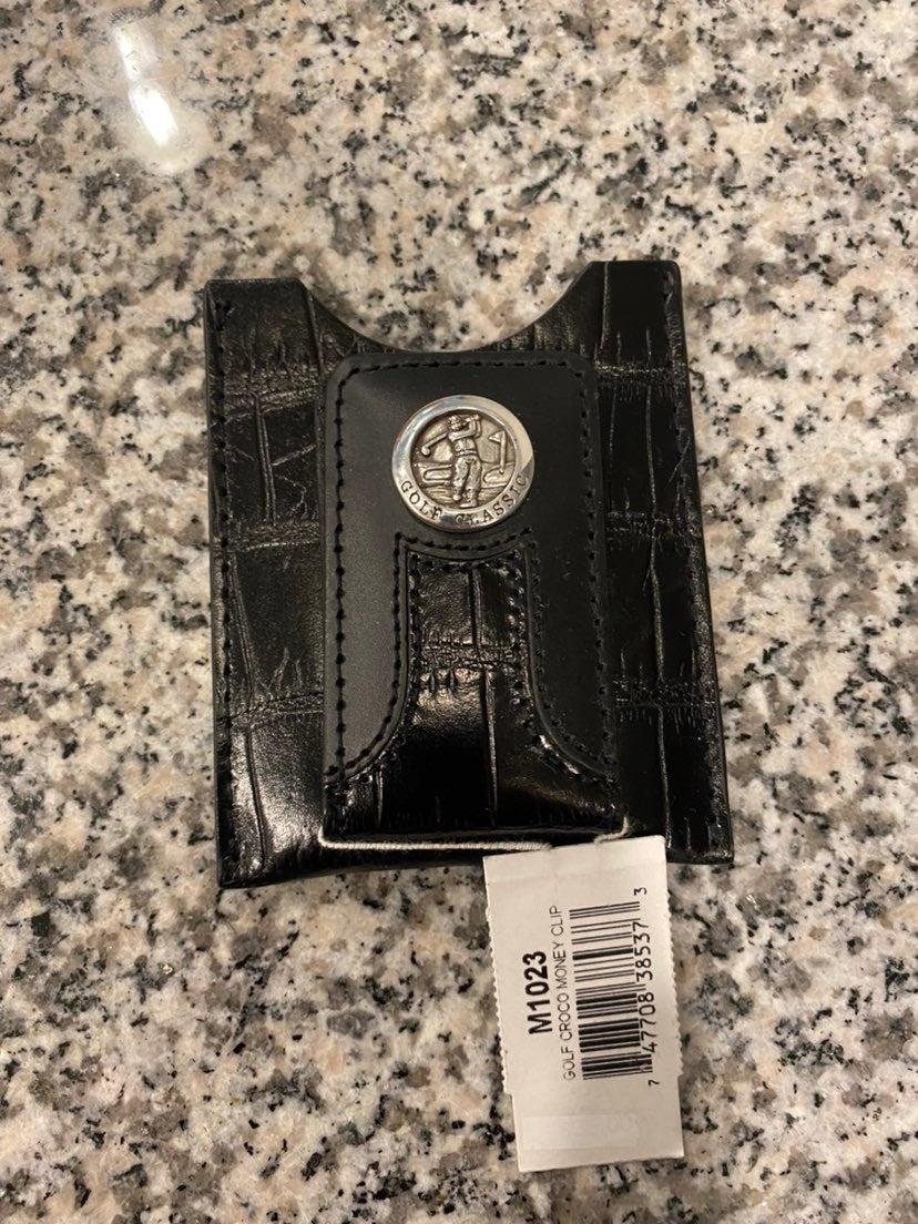 Brighton Golf Money Clip card holder