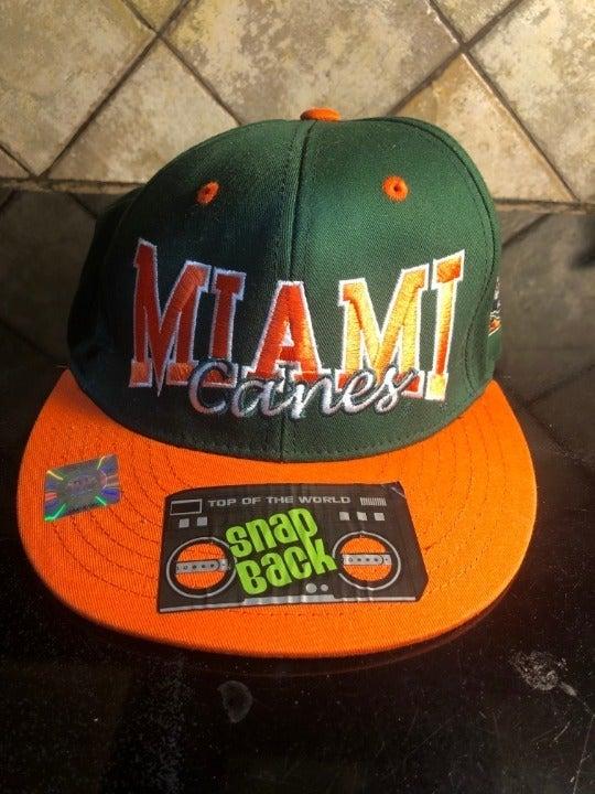 University of Miami Snapback Hat