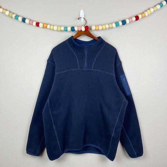 Mens Blue Arc'teryx Quarter Zip Jacket