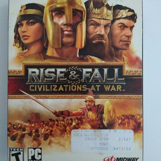 Rise and fall Civilization at war