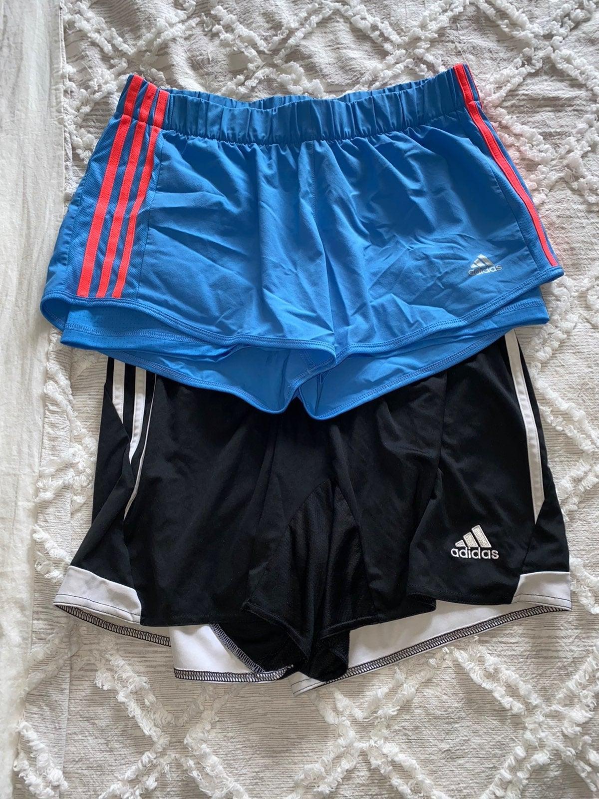 Adidas Running Shorts 2 pairs