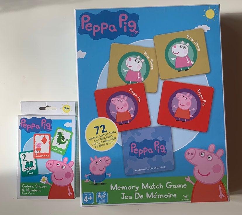 Peppa Pig Memory Matching Game Sealed