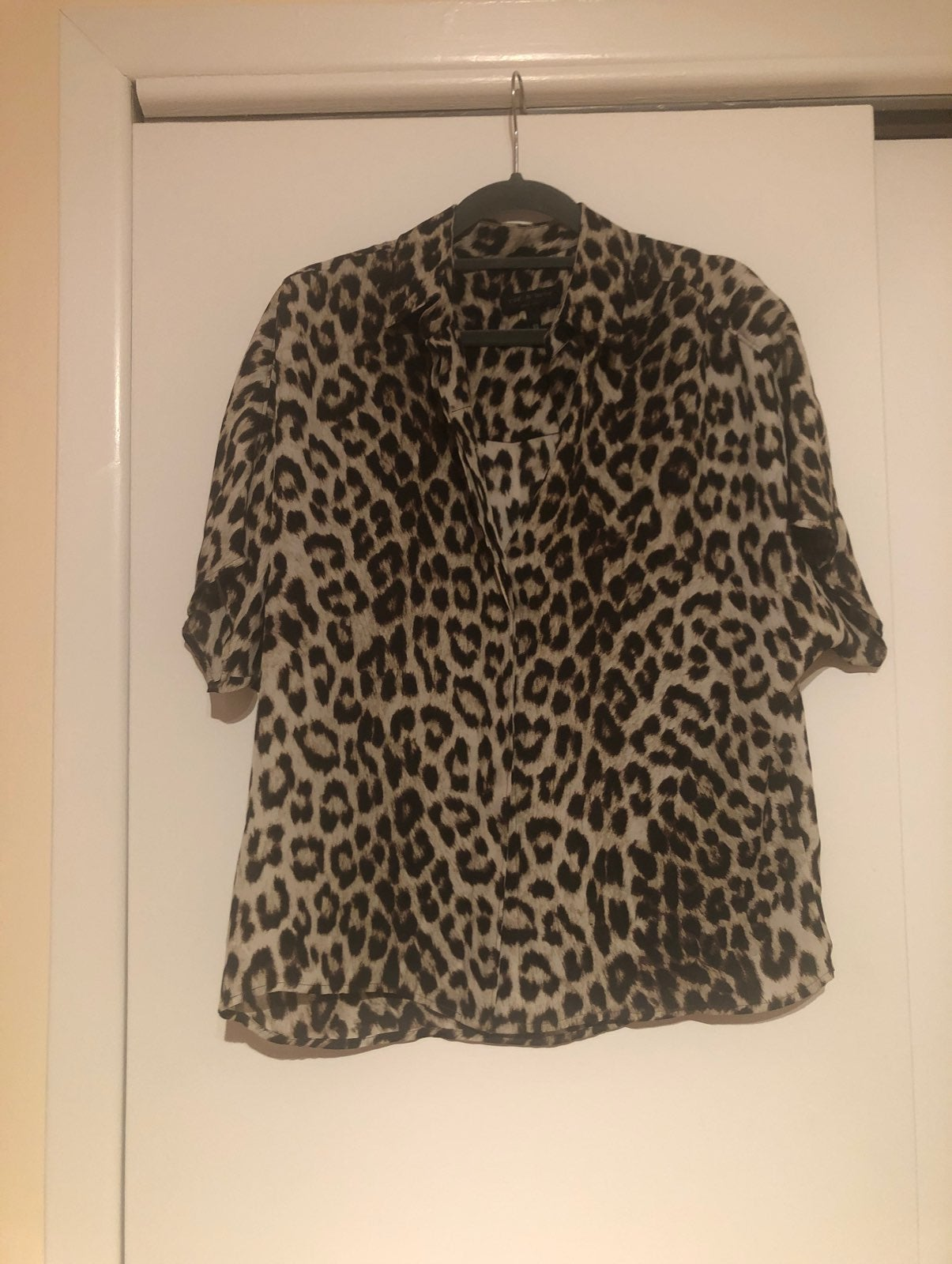 Rag & Bone Cheetah Print Blouse