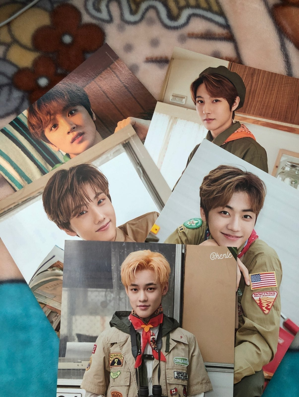 NCT Dream summer package posters