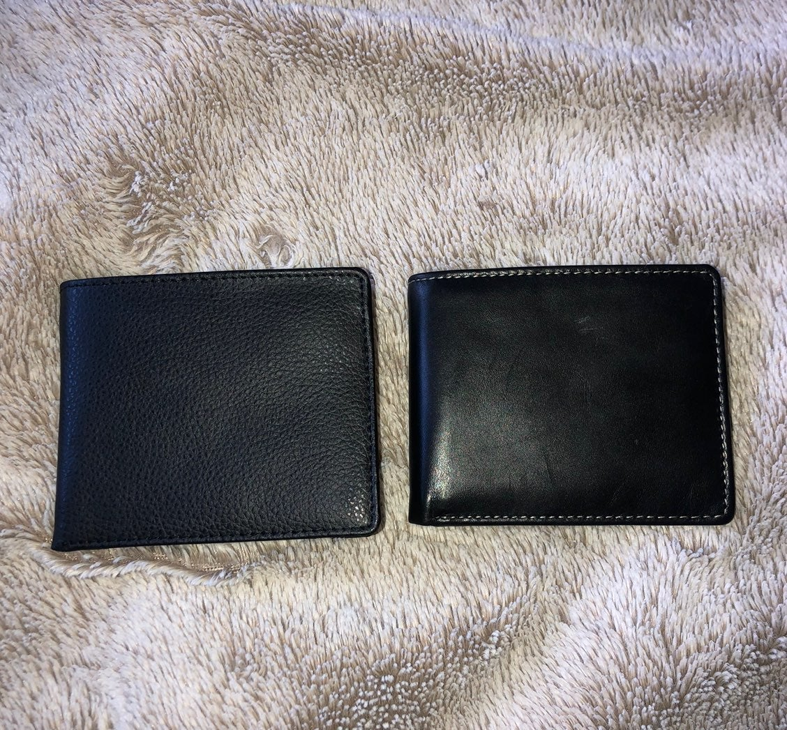 BUNDLE 2 black mens wallets