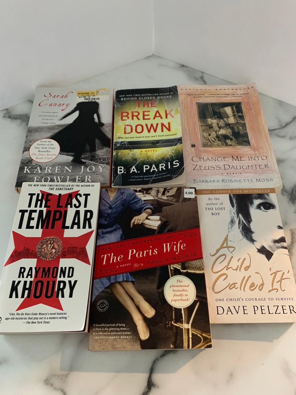 Fiction Book Lot