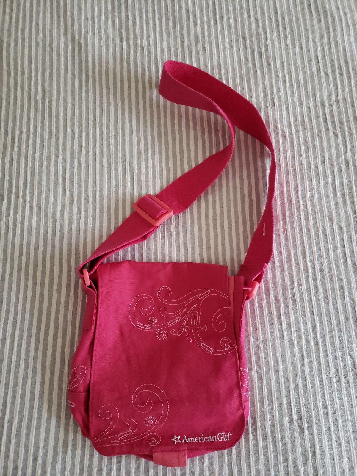 American Girl Pink Crossbody Bag