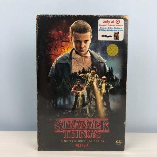 Stranger Things Season 1 blu-ray dvd
