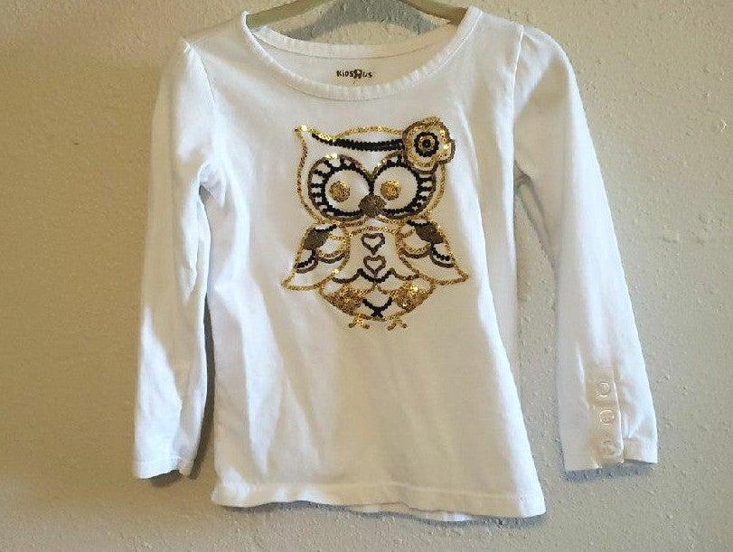 Kids R Us Owl Long Sleeve sz 2t