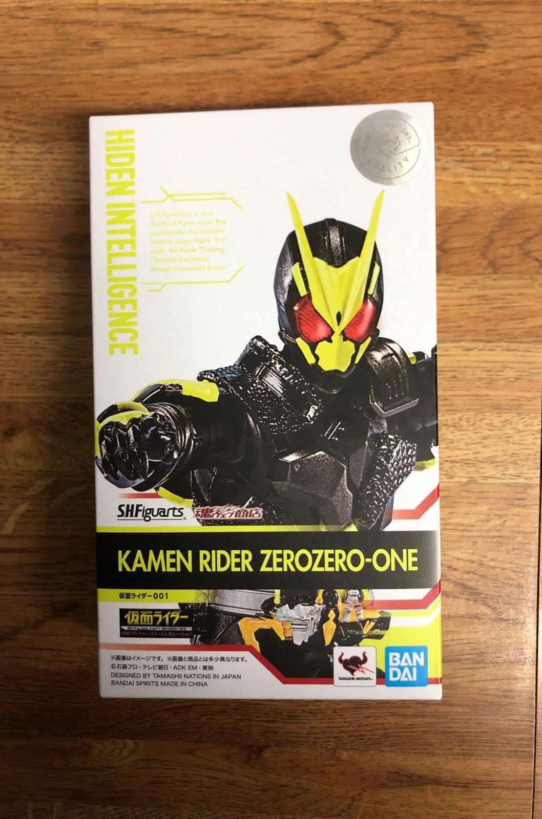 SHF figuarts kamen rider zero zero-one