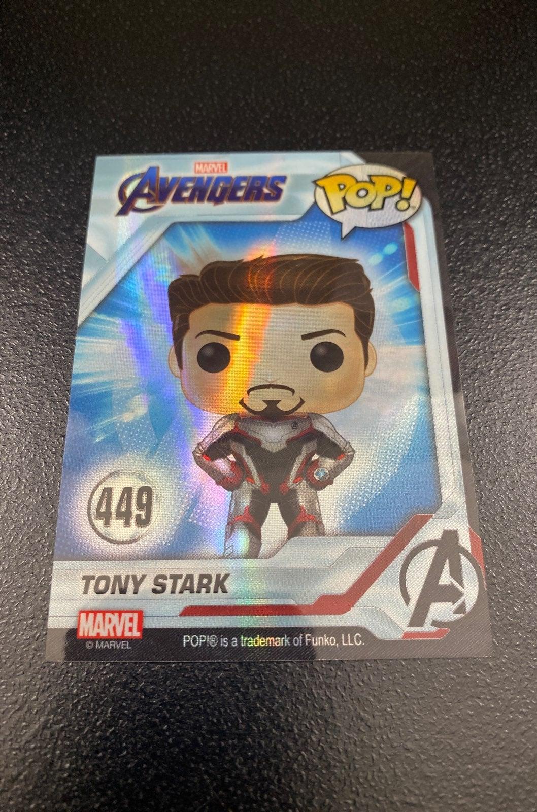 Holographic EE Avengers Tony Stark