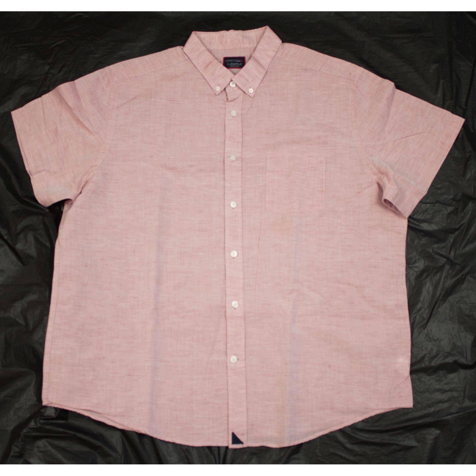 UNTUCKit Short Sleeve Button Down Shirt