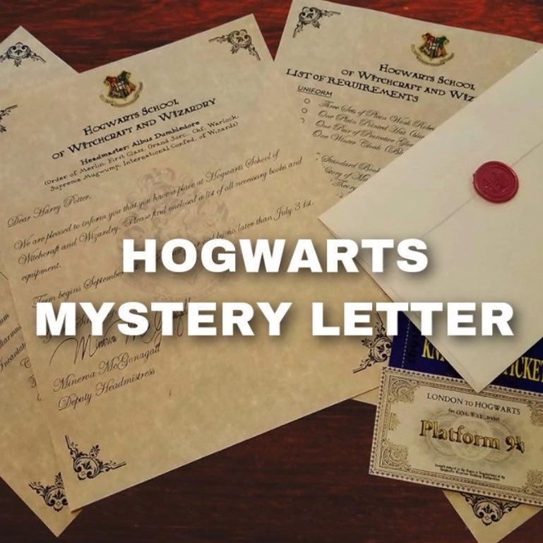 hogwarts mystery letter