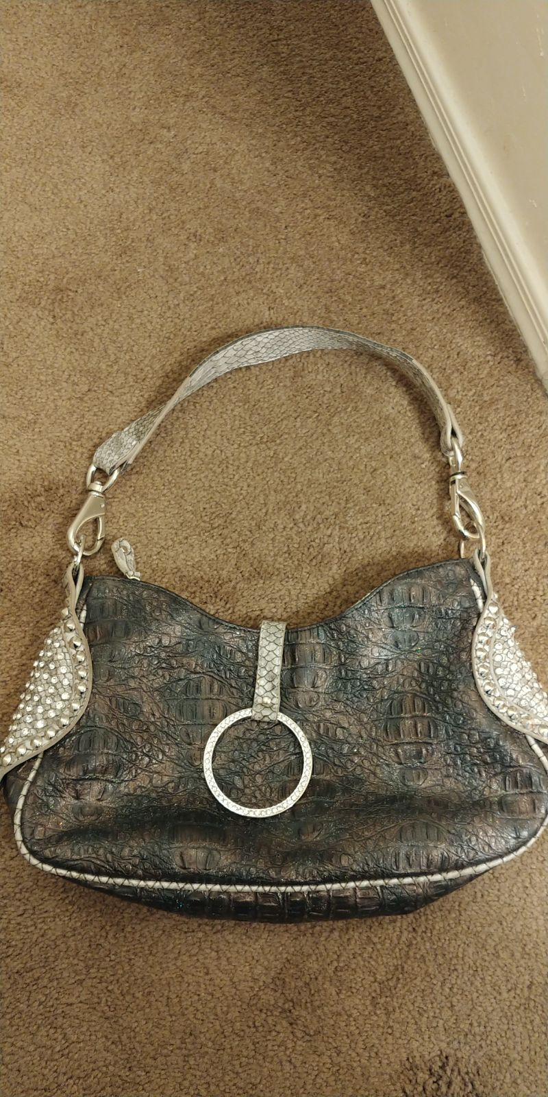 Purse with bling