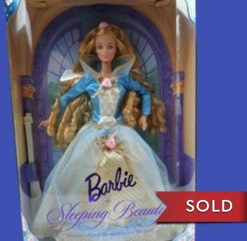 NIB 1997 Barbie as Sleeping Beauty doll