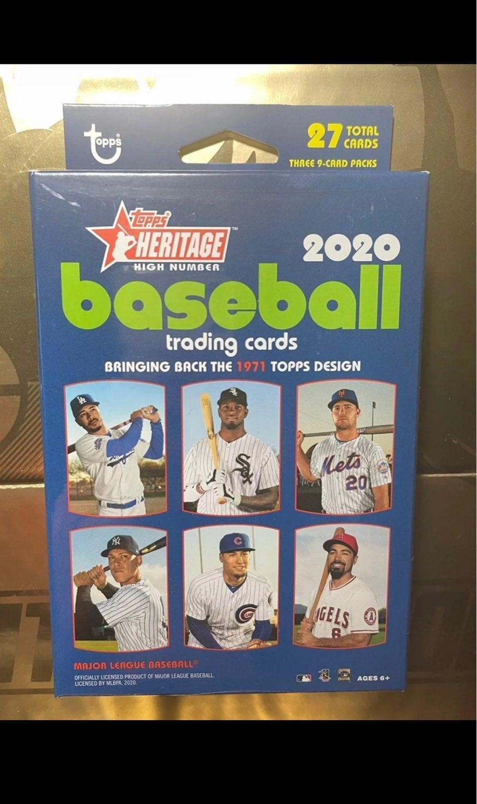 2020 Topps Heritage Baseball Hanger Box