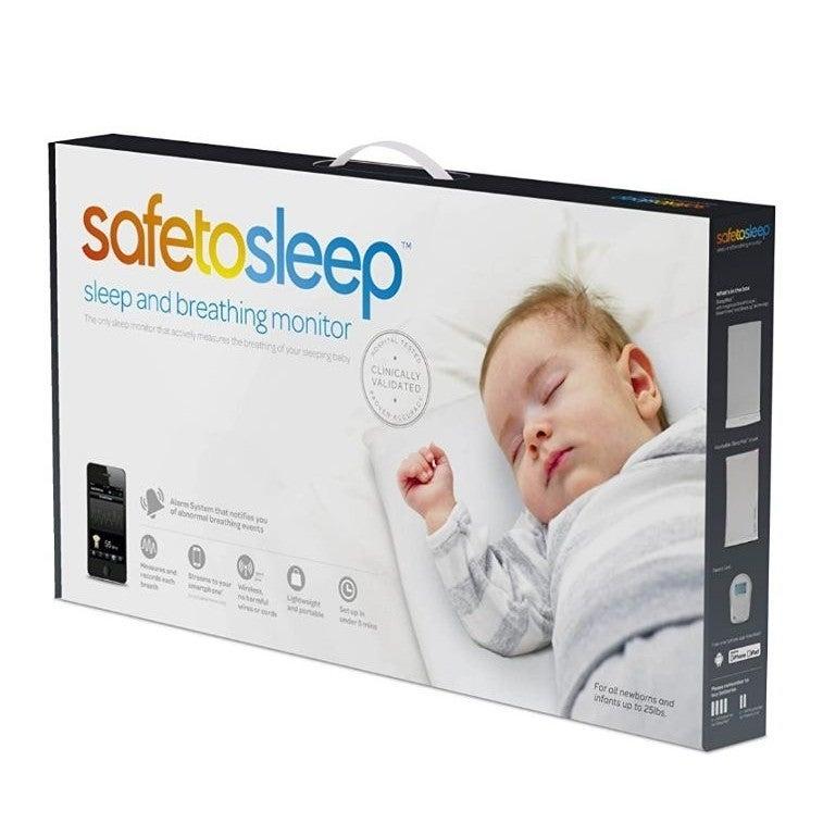 Safe to Sleep Infant breathing alarm mat