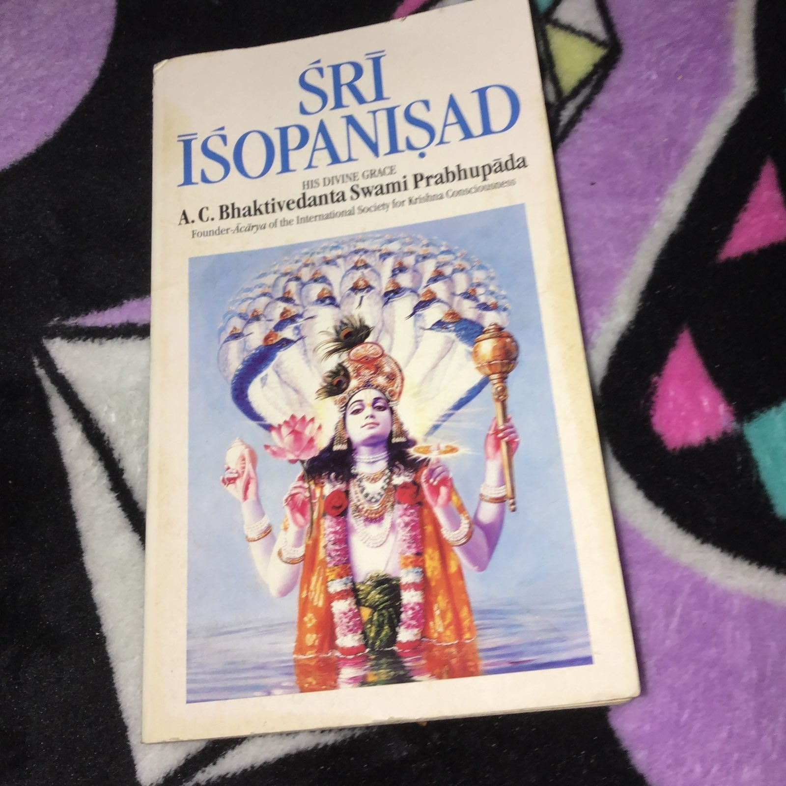 Sri isopanisad krishna book hindu