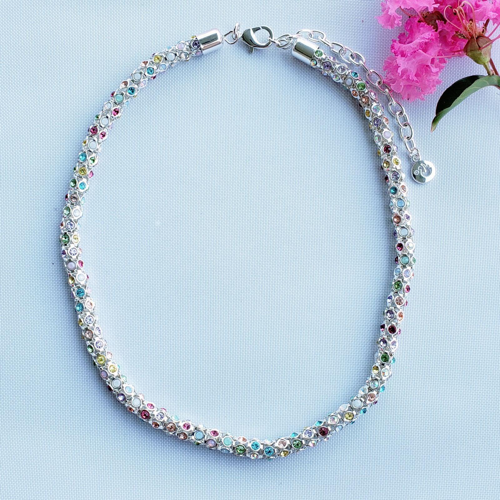 Swarovski Signed Crystal necklace