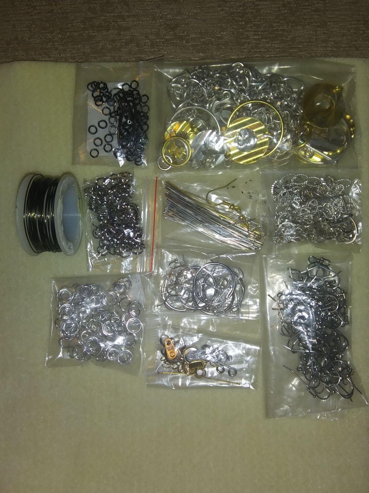 Jewelry findings lot