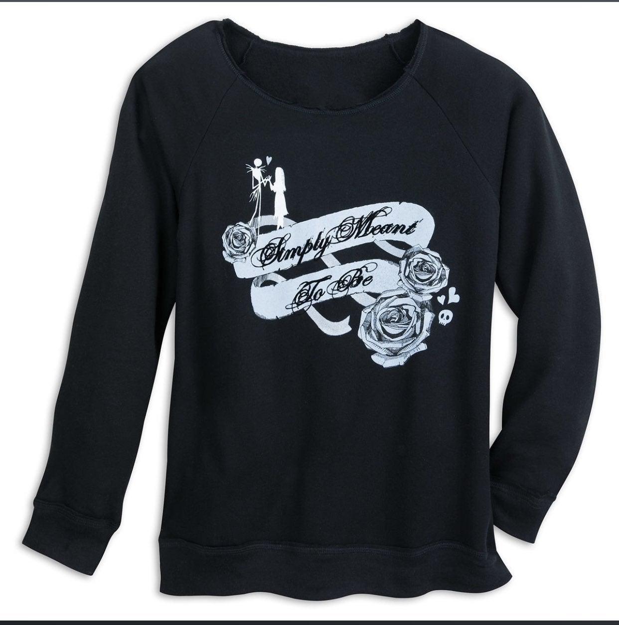 Disney Jack & Sally Pullover Sweatshirt