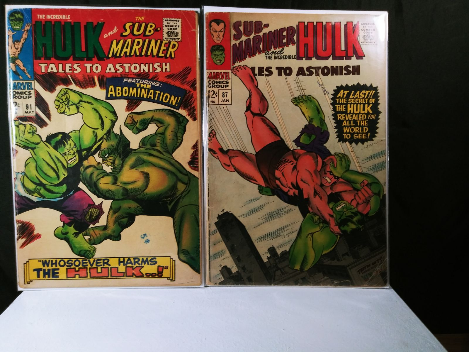 Tales to Astonish, 87 & 91, 12 cent