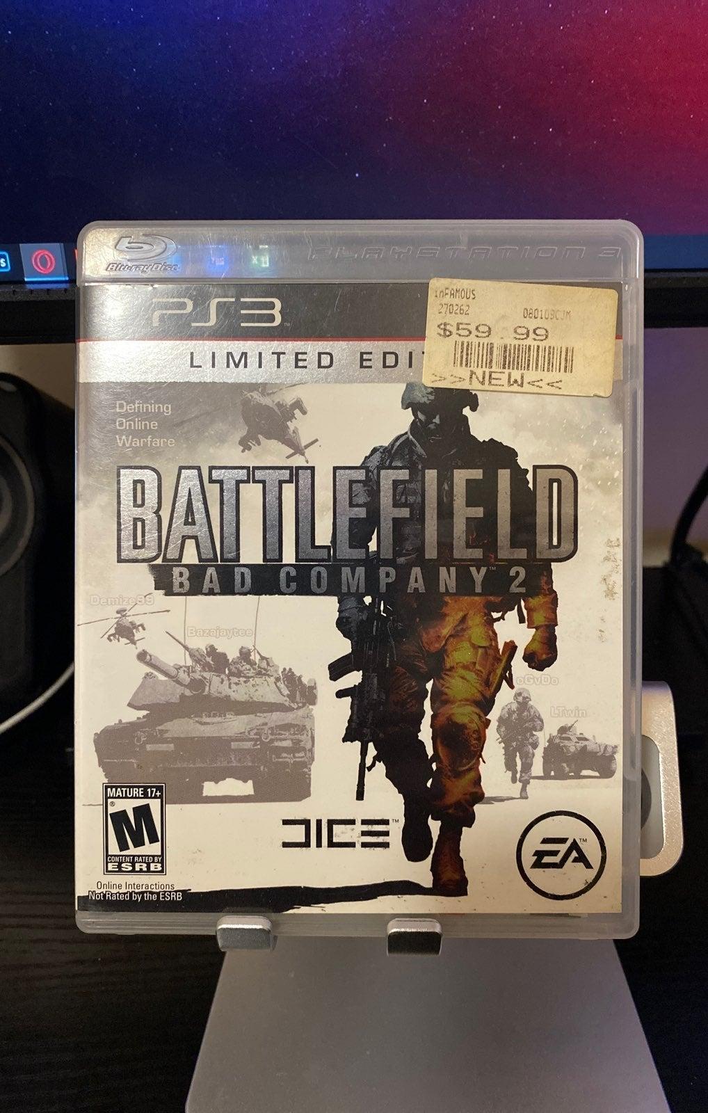 Battlefield Bad Company 2 PS2
