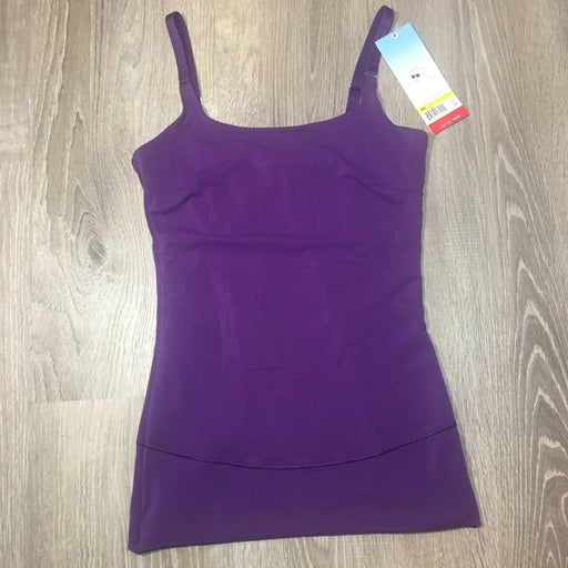 ASSETS Red Hot Label SPANX Purple Top M