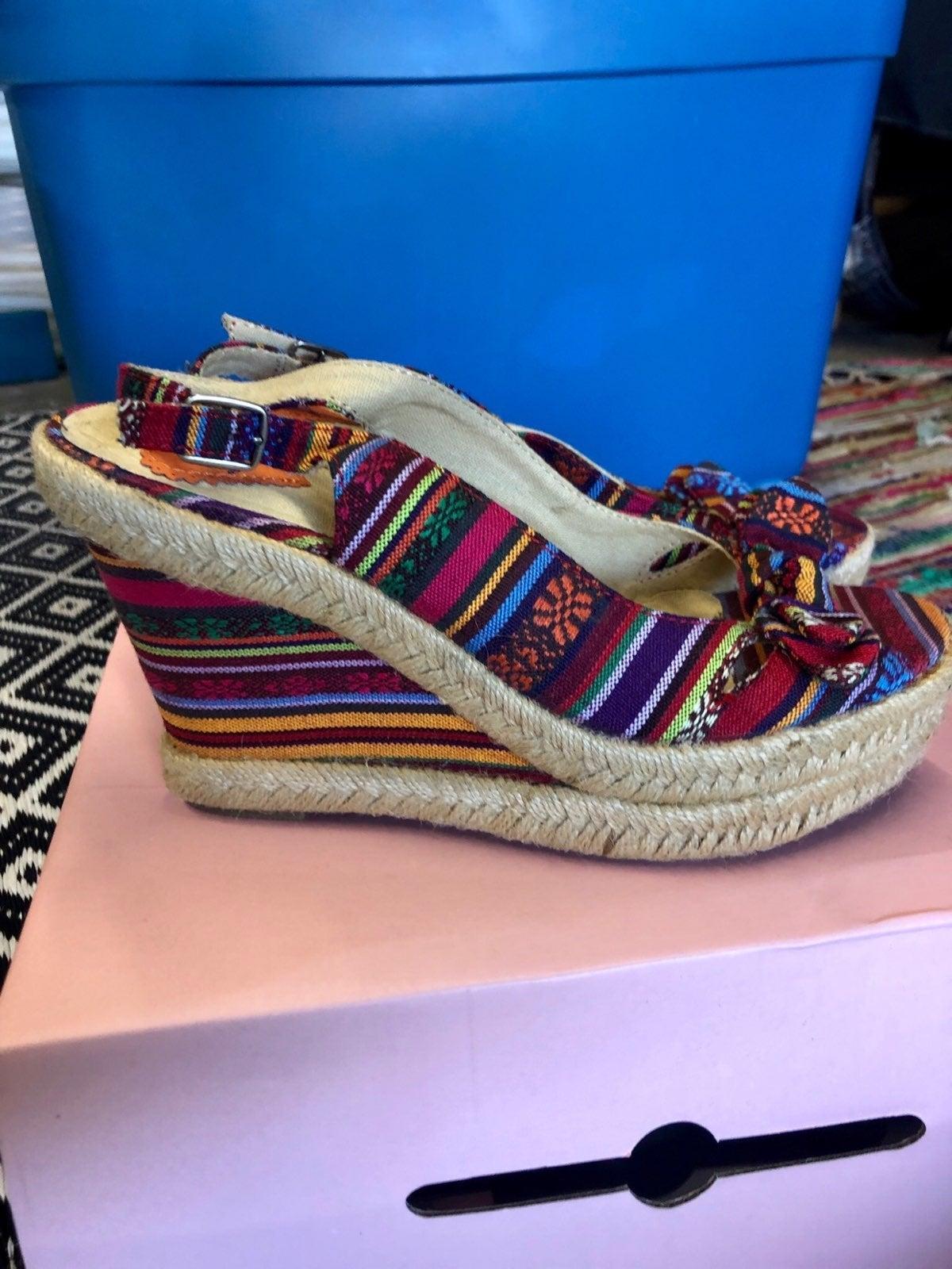 Rocket dog Boho Wedge Sandal Multicolor