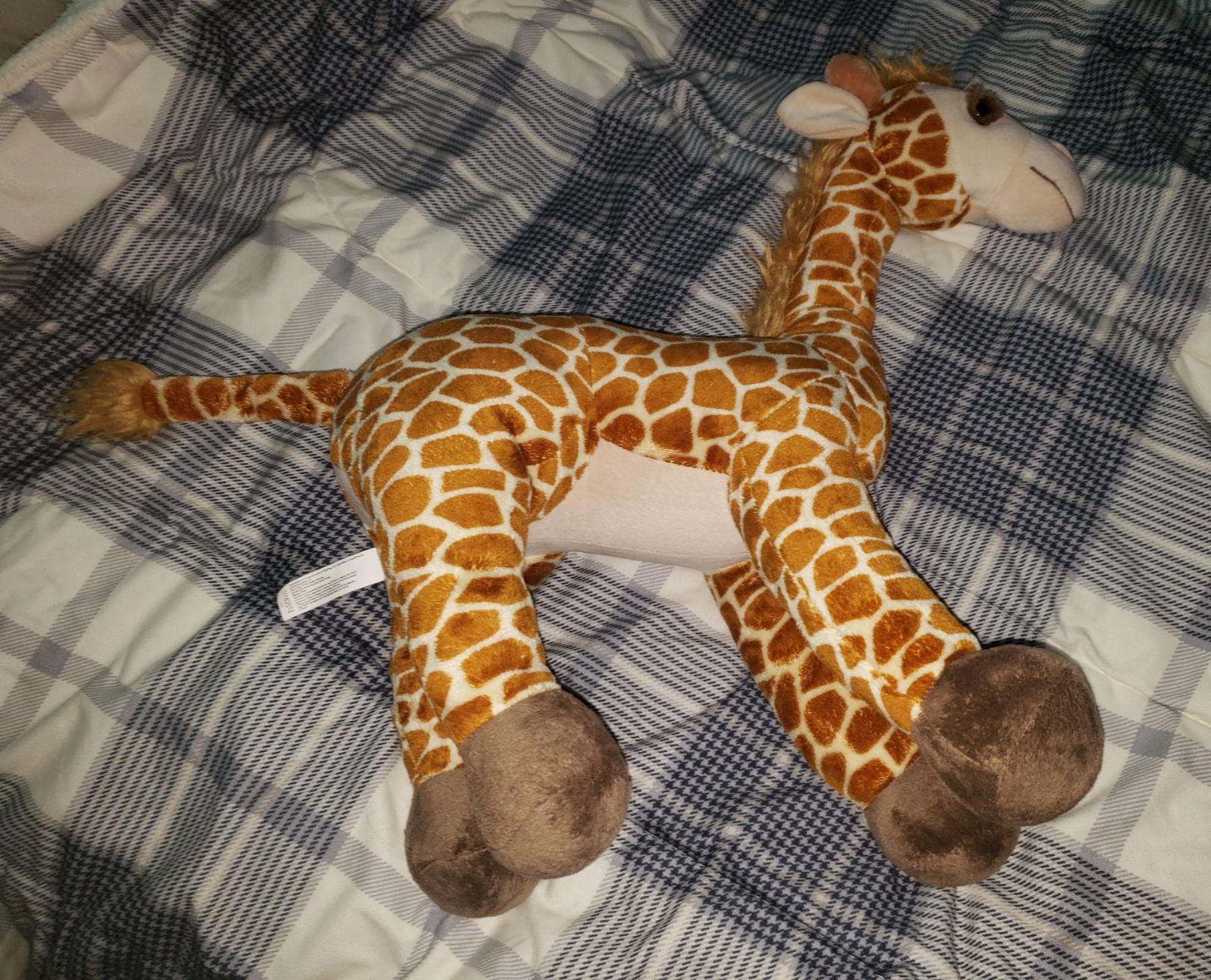 Toys R Us Giraffe Plush Geoffrey Brown T