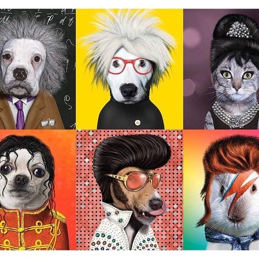 New -Pets Rock! Famous Icons- 550 pieces