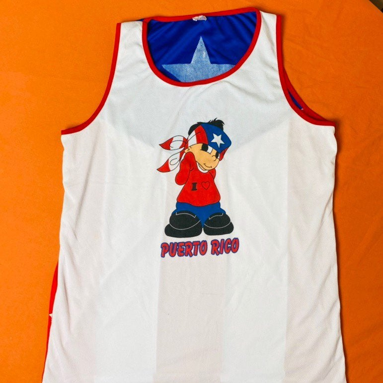 Puerto Rico tank top double sided