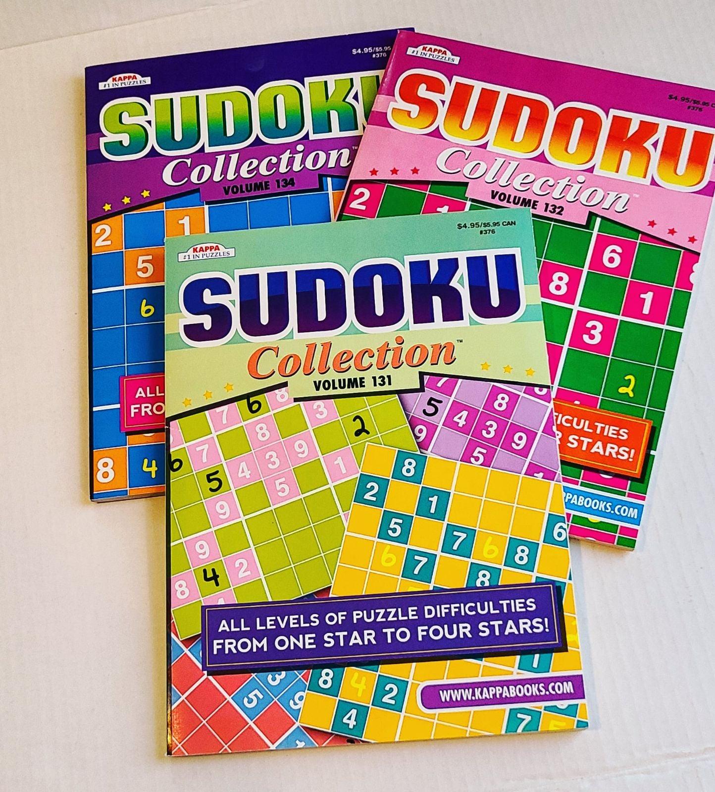 3 Sudoku books/Selling as a bundle of 3