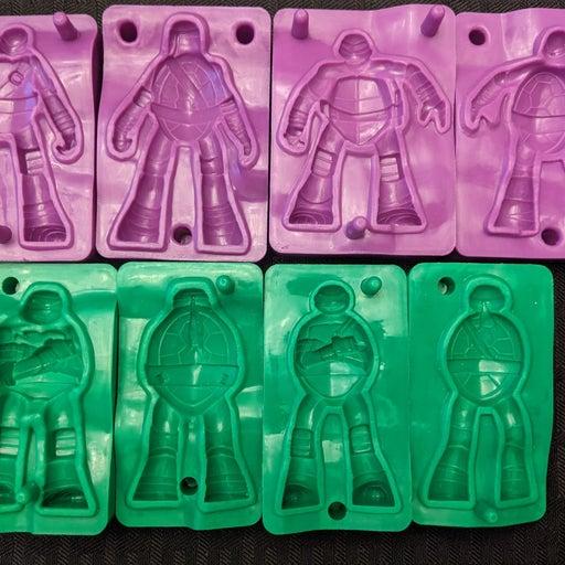 Ninja Turtles Cra Z Art Molds Dough