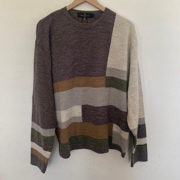 Bugatchi 100% Merino wool Sweater XL