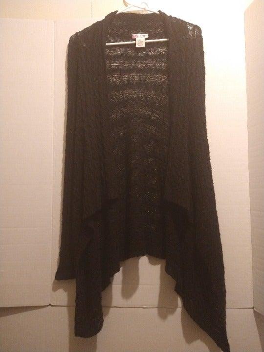 Candie´s Black Knit Cardigan Medium