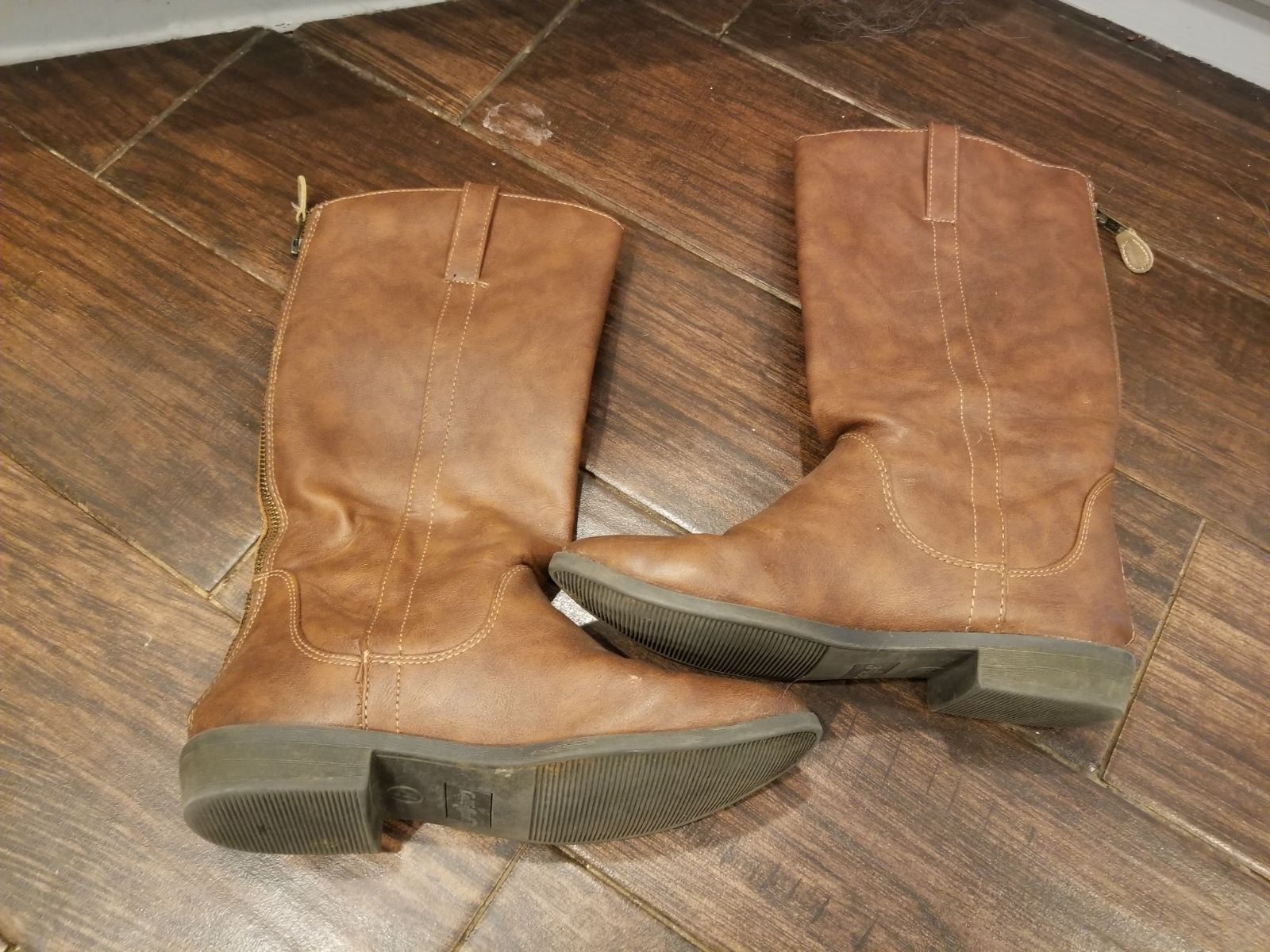 Cat & Jack Girls Riding Boots Sz 4 youth